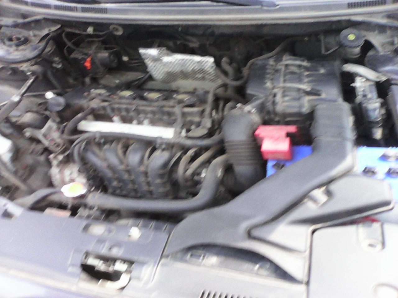 Mitsubishi Lancer EX-moteur