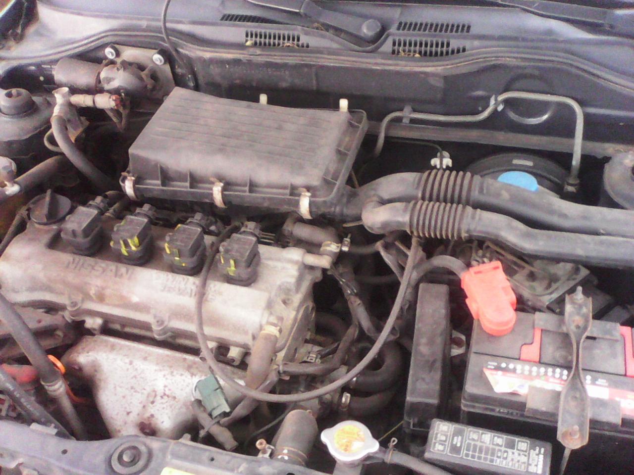 Nissan Micra-moteur