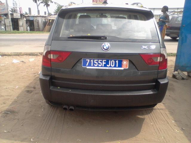 BMW X3 ARRIERE
