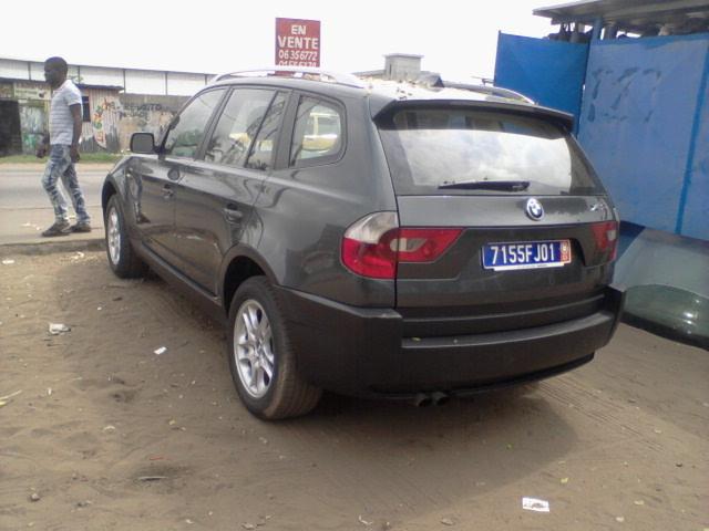 BMW X3 ARRIERE1