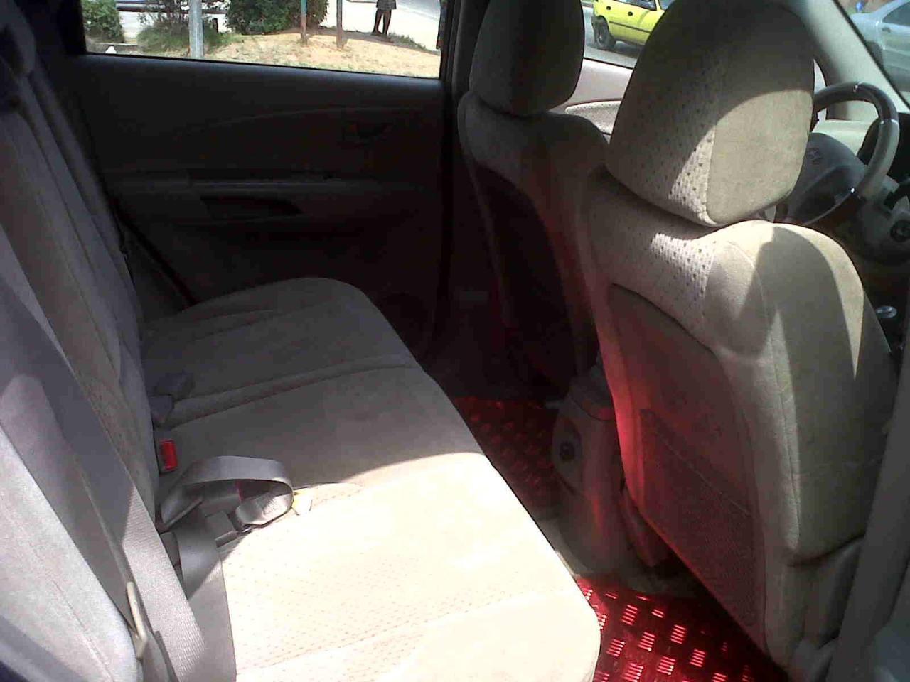 Hyundai tucson interieur arriere