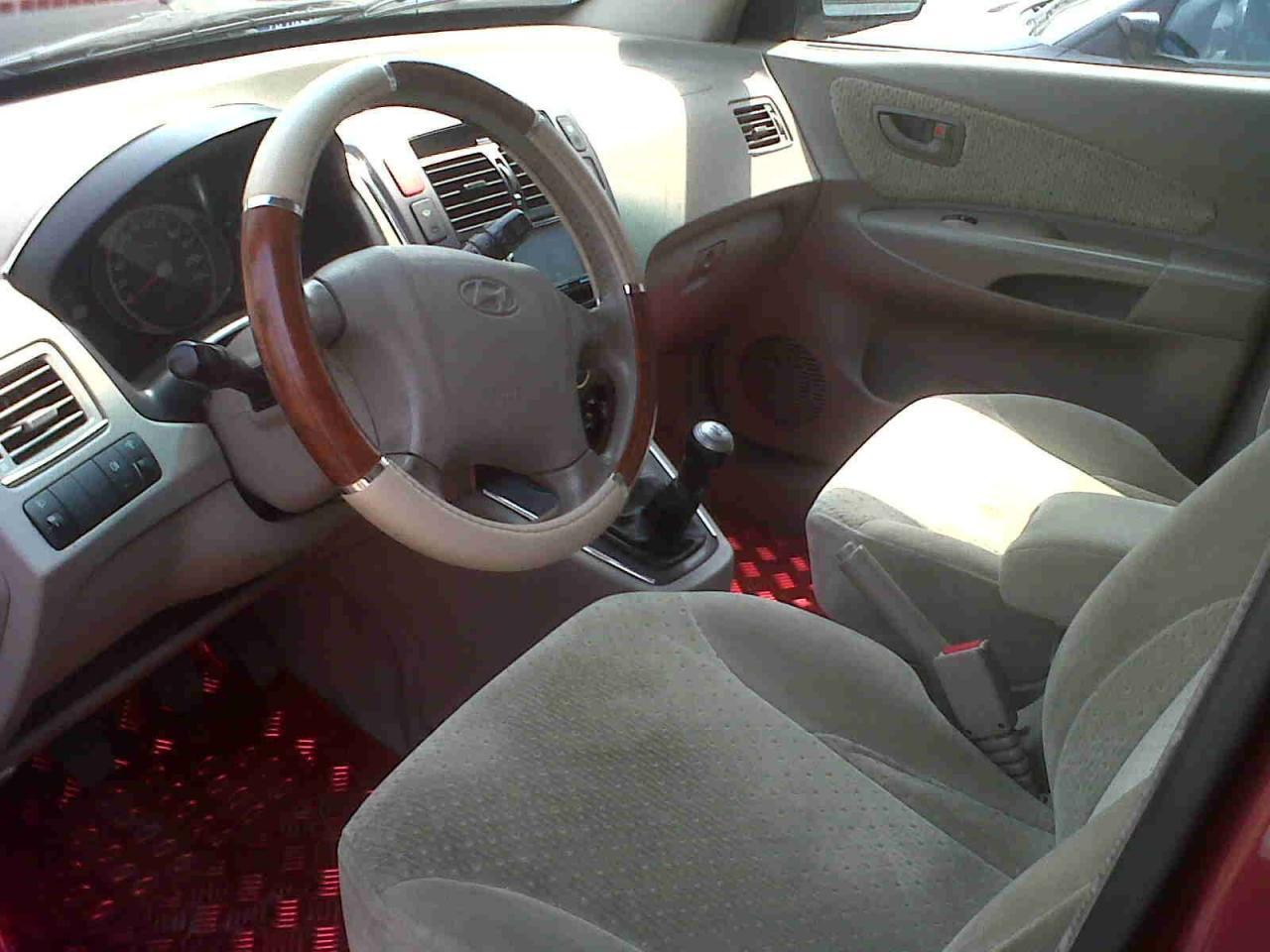 Hyundai tucson interieur avant