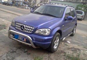 Mercedes ml 320 avant