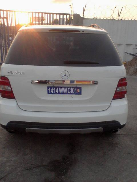 Mercedes ml 350 arriere