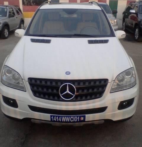 Mercedes ml 350 avant